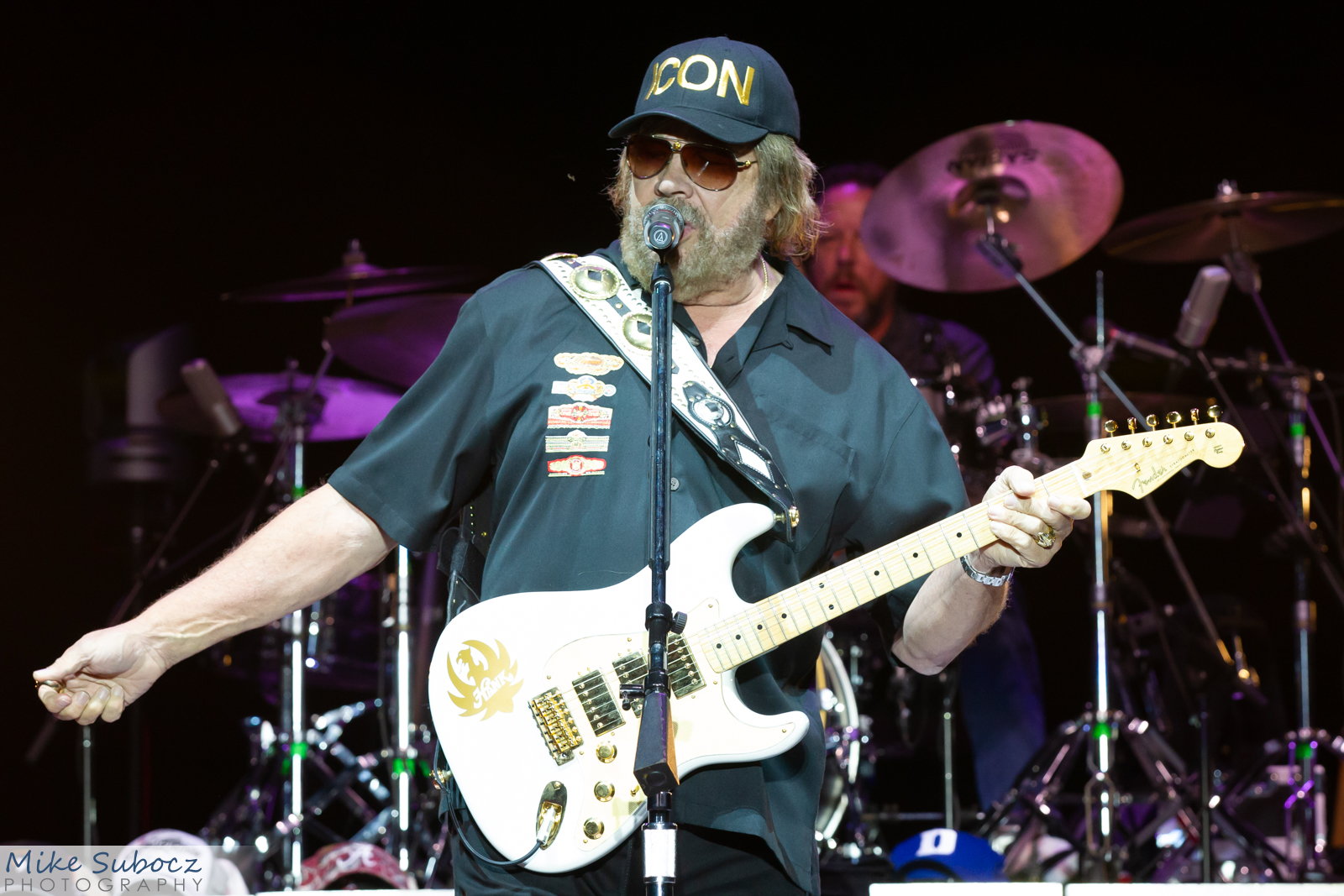 Hank Williams Jr concert image