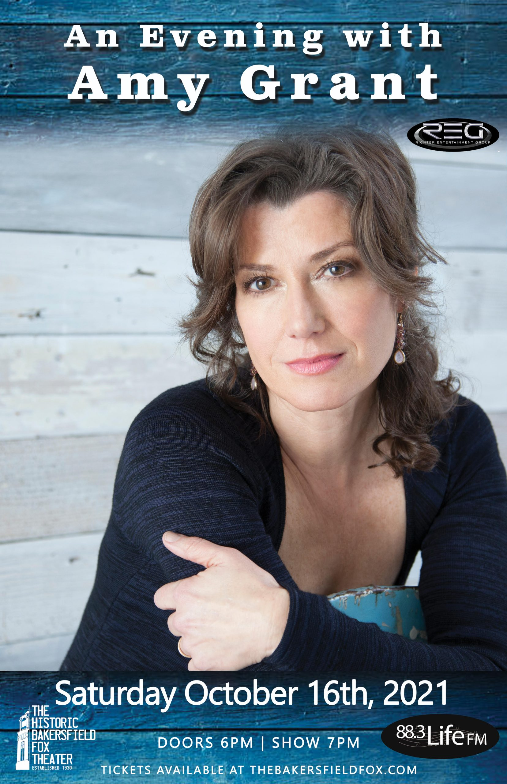 Amy Grant In concert March 22nd at Bakersfield Fox Theater